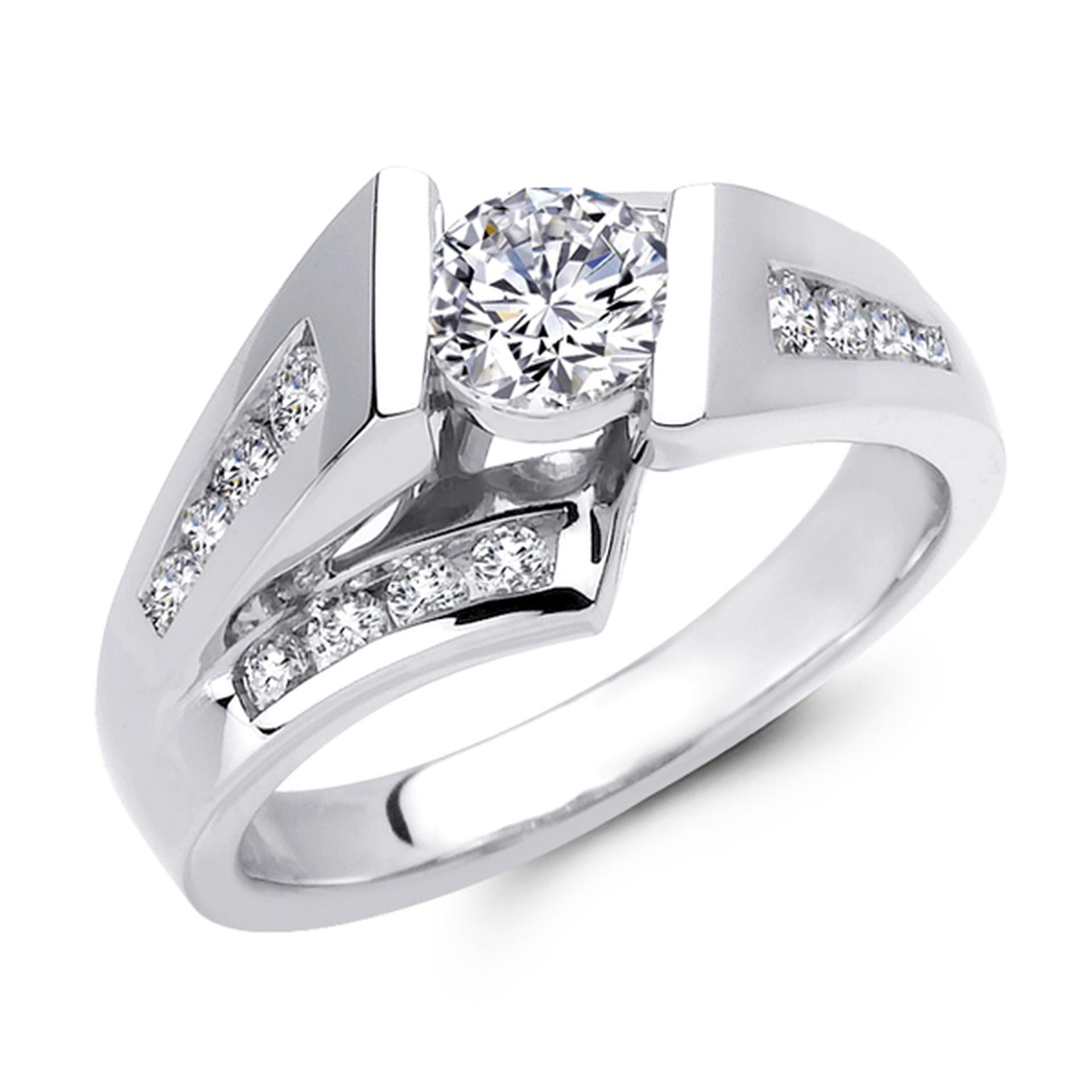 Fine Quality Diamond Jewelry Engagement Ring